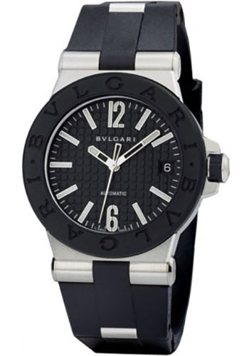 Bulgari Watches - Diagono 35 mm - Stainless Steel - Style No: 101615 DG35BSVD