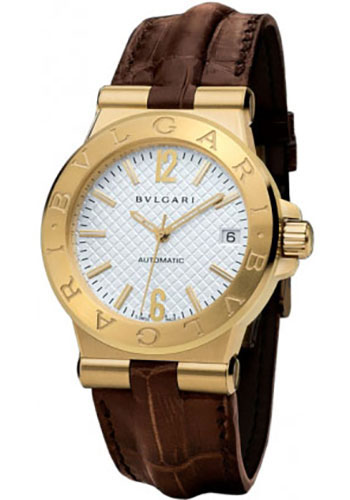 Bulgari Watches - Diagono 35 mm - Yellow Gold - Style No: 101617 DG35C6GLD