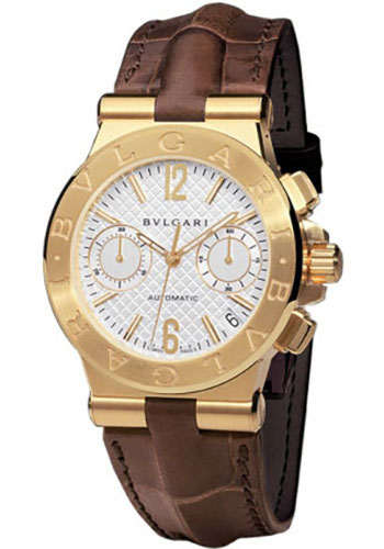Bulgari Watches - Diagono 35 mm - Yellow Gold - Style No: 101618 DG35C6GLDCH