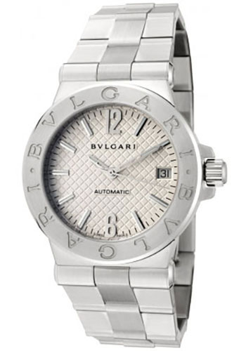 Bulgari Watches - Diagono 35 mm - Stainless Steel - Style No: 101619 DG35C6SSD