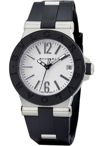 Bulgari Watches - Diagono 35 mm - Stainless Steel - Style No: 101620 DG35C6SVD