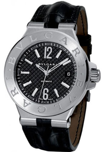 Bulgari Watches - Diagono 40 mm - Stainless Steel - Style No: 101621 DG40BSLD