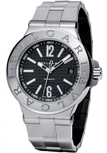 Bulgari Watches - Diagono 40 mm - Stainless Steel - Style No: 101623 DG40BSSD