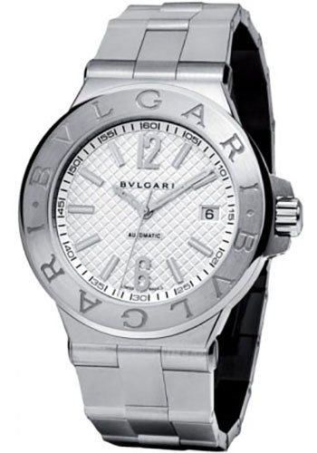 Bulgari Watches - Diagono 40 mm - Stainless Steel - Style No: 101628 DG40C6SSD