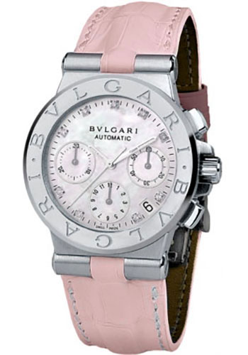 Bulgari Watches - Diagono 35 mm - Stainless Steel - Style No: 101649 DG35C2SLDCH/9