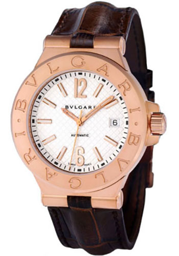 Bulgari Watches - Diagono 40 mm - Pink Gold - Style No: 101657 DGP40C6GLD