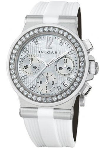 Bulgari Watches - Diagono 35 mm - Stainless Steel - Style No: 101755 DG35WSDWVDCH/8