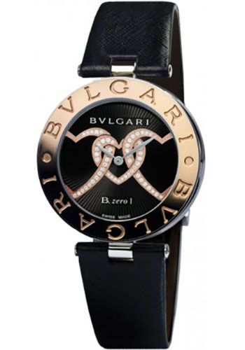 Bulgari Watches - B.zero1 35 mm - Steel and Gold - Style No: 101768 BZ35BHDSGL/2