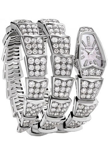 Bulgari Watches - Serpenti Scaglie - 26 mm - White Gold - Style No: 101786 SPW26WGD1GD2.2T