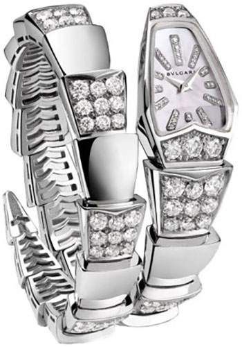 Bulgari Watches - Serpenti Scaglie - 26 mm - White Gold - Style No: 101787 SPW26WGD1GD1.1T