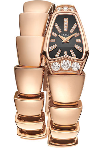 Bulgari Watches - Serpenti Jewellery - 26 mm - Rose Gold - Style No: 101788
