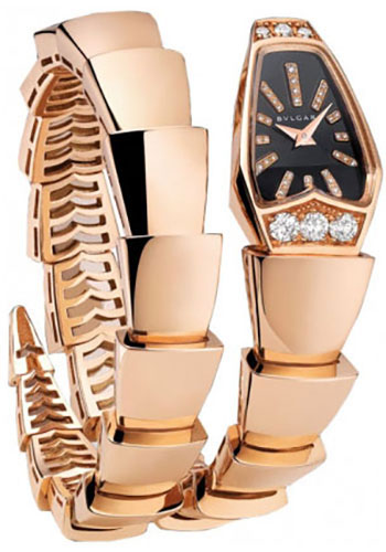 Bulgari Watches - Serpenti 26 mm - Pink Gold - Style No: 101788 SPP26BGD1GD.1T