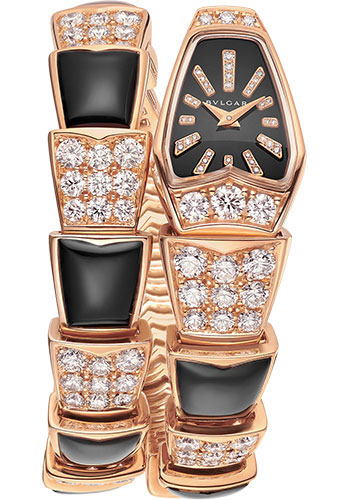 Bulgari Watches - Serpenti Jewellery - 26 mm - Rose Gold - Style No: 101790