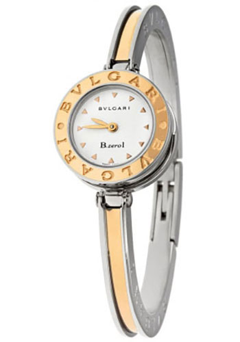 Bulgari Watches - B.zero1 22 mm - Steel and Gold - Style No: 101800 BZ22WSPGSPG.M