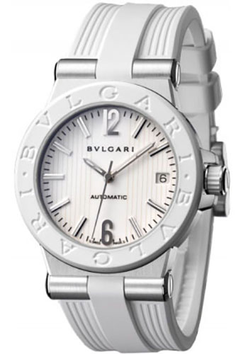 Bulgari Watches - Diagono 35 mm - Stainless Steel - Style No: 101807 DG35WSWVD