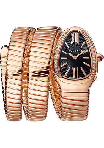 Bulgari Watches - Serpenti Tubogas - 35 mm - Rose Gold - Style No: 101814
