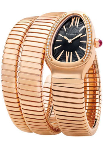 Bulgari Watches - Serpenti 35 mm - Pink Gold - Style No: 101814 SPP35BGDG.2T