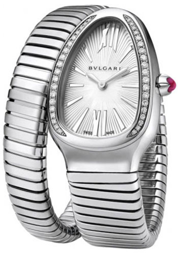 Bulgari Watches - Serpenti Tubogas - 35 mm - Stainless Steel - Style No: 101816 SP35C6SDS.1T