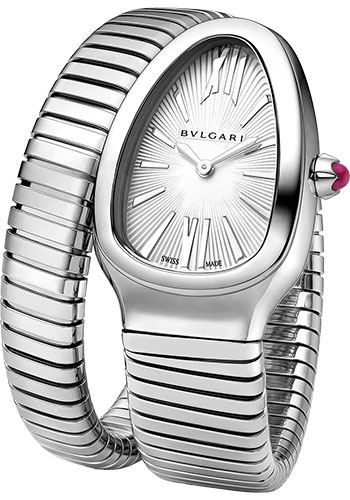 Bulgari Watches - Serpenti Tubogas - 35 mm - Stainless Steel - Style No: 101817