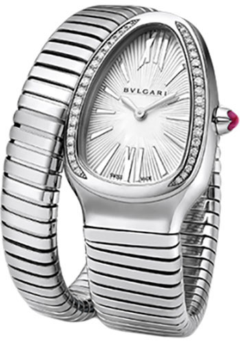 Bulgari Watches - Serpenti 35 mm - Stainless Steel - Style No: 101827 SP35C6SDS.1T/L
