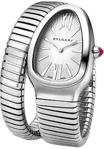 Bulgari Watches - Serpenti 35 mm - Stainless Steel - Style No: 101828 SP35C6SS.1T/L