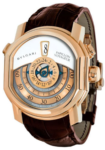 Bulgari Watches - Daniel Roth 46 mm - Pink Gold - Style No: 101835 BRRP46C14GLGMTP