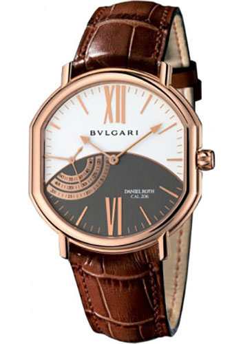 Bulgari Watches - Daniel Roth 44 mm - Pink Gold - Style No: 101842 BRRP44C14GLPS