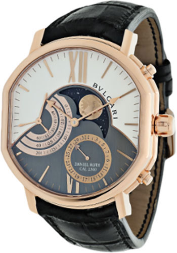 Bulgari Watches - Daniel Roth 46 mm - Pink Gold - Style No: 101845 BRRP46C14GLDMP