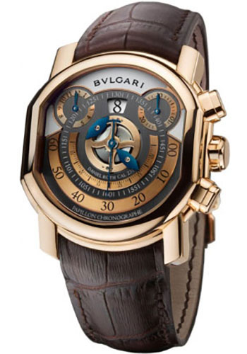 Bulgari Watches - Daniel Roth 46 mm - Pink Gold - Style No: 101850 BRRP46C14GLCHP