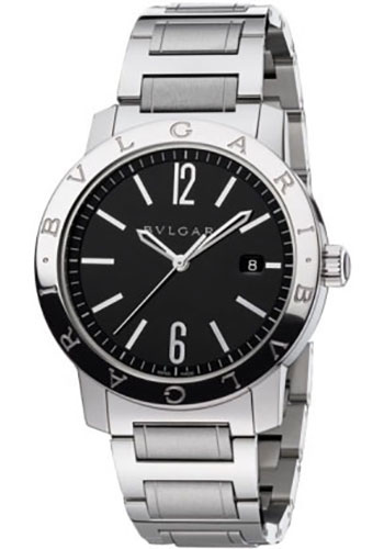 Bulgari Watches - Bulgari Bulgari 41 mm - Stainless Steel - Bracelet - Style No: 101868 BB41BSSD