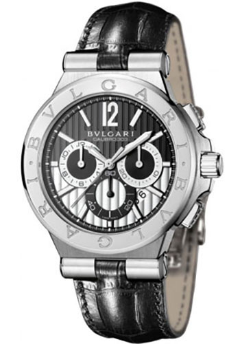 Bulgari Watches - Diagono 42 mm - Stainless Steel - Style No: 101881 DG42BSLDCH