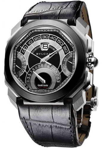 Bulgari Watches - Octo Chronograph - 45 mm - Stainless Steel - Style No: 101882 BGO45BSCLDCHQR