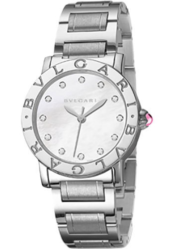 Bulgari Watches - Bulgari Bulgari 33 mm - Stainless Steel - Bracelet - Style No: 101888 BBL33WSS/12