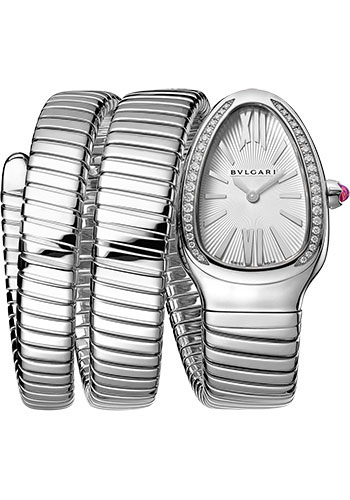 Bulgari Watches - Serpenti Tubogas - 35 mm - Stainless Steel - Style No: 101910