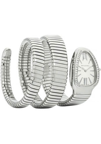 Bulgari Watches - Serpenti 35 mm - Stainless Steel - Style No: 101910 SP35C6SDS.2T