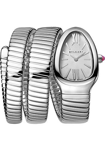 Bulgari Watches - Serpenti Tubogas - 35 mm - Stainless Steel - Style No: 101911