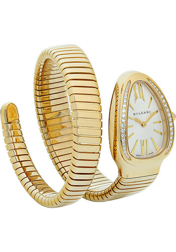Bulgari Watches - Serpenti Tubogas - 35 mm - Yellow Gold - Style No: 101924