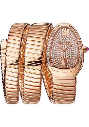 Bulgari Watches - Serpenti Tubogas - 35 mm - Rose Gold - Style No: 101956