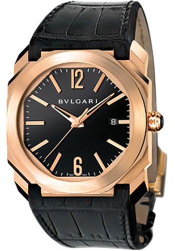 Bulgari Watches - Octo 41 mm - Pink Gold - Style No: 101963 BGOP41BGLD
