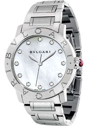 Bulgari Watches - Bulgari Bulgari 37 mm - Stainless Steel - Bracelet - Style No: 101975 BBL37WSS/12