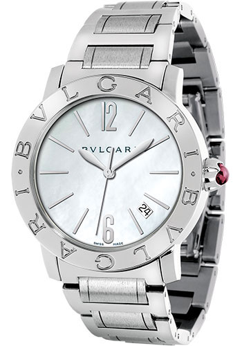 Bulgari Watches - Bulgari Bulgari 37 mm - Stainless Steel - Bracelet - Style No: 101976