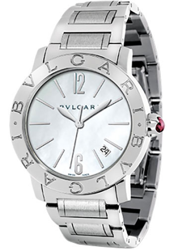 Bulgari Watches - Bulgari Bulgari 37 mm - Stainless Steel - Bracelet - Style No: 101976 BBL37WSSD