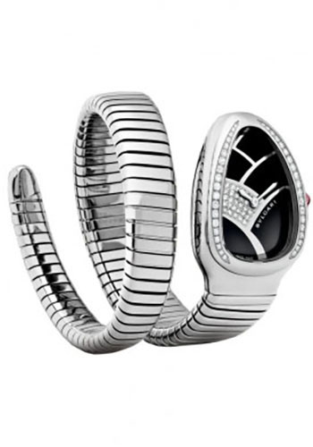 Bulgari Watches - Serpenti 35 mm - Stainless Steel - Style No: 101982 SP35BD1SDS.1T