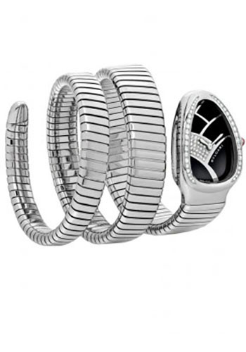 Bulgari Watches - Serpenti 35 mm - Stainless Steel - Style No: 101983 SP35BD1SDS.2T
