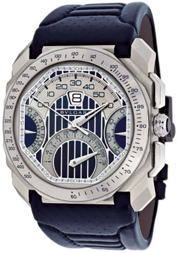 Bulgari Watches - Octo 45 mm - Stainless Steel - Style No: 101989 BGO45C3SLDCHQR/MAS