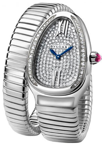 Bulgari Watches - Serpenti 35 mm - White Gold - Style No: 102005 SPW35D2GDG.1T