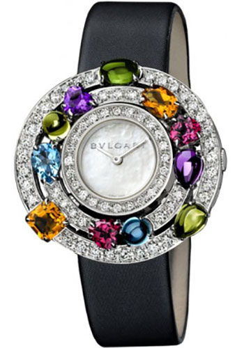 Bulgari Watches - Astrale White Gold - Style No: 102010 AEW36D2CWL