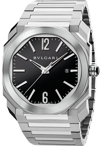 Bulgari Watches - Octo 41 mm - Stainless Steel - Style No: 102031
