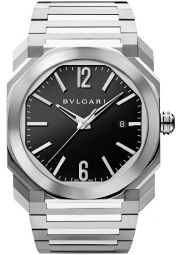 Bulgari Watches - Octo 41 mm - Stainless Steel - Style No: 102031 BGO41BSSD