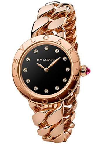 Bulgari Watches - Bulgari Bulgari 31 mm - Pink Gold - Catene Bracelet - Style No: 102036 BBCP31BGG.1T/12